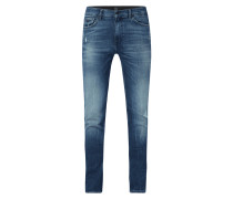 Slim Fit Jeans mit Stretch-Anteil Modell '020 Delaware'