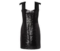 Kleid mit Pailletten-Besatz