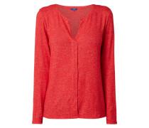 Pullover mit Stretch-Anteil