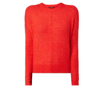 Pullover mit Teilungsnaht