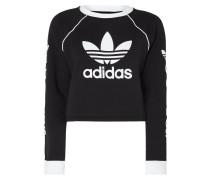 Boxy Fit Sweatshirt mit Logo-Prints