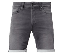 Stone Washed Jeansshorts aus Sweat Denim