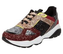 Sneaker mit Glitter-Effekt