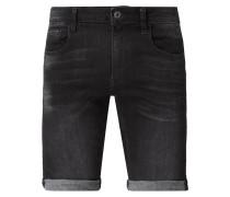 Slim Fit Jeansshorts mit Stretch-Anteil