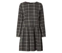 Kleid aus Baumwolle mit Tartan-Karo