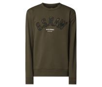 Sweatshirt mit recyceltem Polyester-Anteil