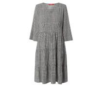Kleid aus Viskose mit Glencheck