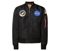 Bomber mit NASA-Patches
