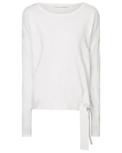 Pullover mit seitlicher Schnürung