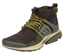 Sock Sneaker 'Air Presto Mid Utility' mit Besatz