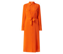 Hemdblusenkleid aus Seide Modell 'Callura'