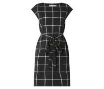 Kleid mit Taillenband Modell 'Katiya'
