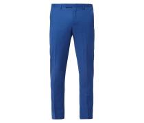 Slim Fit Anzug-Hose aus Schurwollmischung