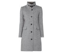 Mantel aus Twill