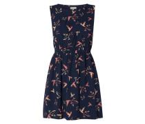 Kleid aus Viskose mit Allover-Muster