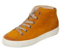 High Top Sneaker aus Nubukleder
