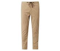 Tapered Fit Jogpants mit Stretch-Anteil Modell 'Sabriel'