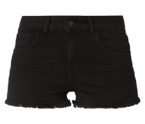 Coloured High Rise Jeansshorts