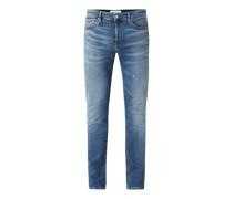 Slim Fit Jeans mit Stretch-Anteil Modell 'CKJ 026'