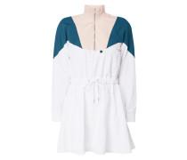 Kleid 'NYLON DRESS' im dreifarbigen Design