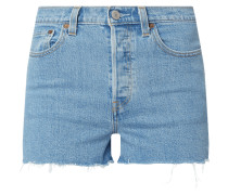 High Waist Jeansshorts mit Stretch-Anteil