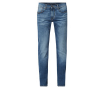 Slim Fit Jeans mit Stretch-Anteil Modell 'John'