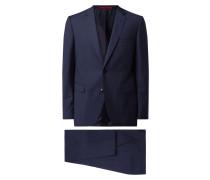Regular Fit Anzug mit 2-Knopf-Sakko Modell 'Jeffery/Simmons'
