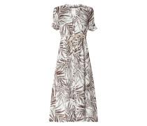 Kleid aus Leinen Modell 'Manuela'