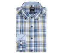 Luxor Hemd modern fit mit Button-Down-Kragen