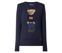 Pullover mit eingesticktem Polo Bear