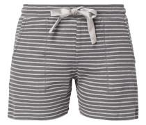 Shorts mit Streifenmuster und Tunnelzug