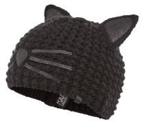 Mütze mit Katzenohren-Applikation