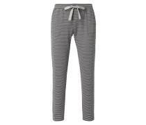 Pyjamahose mit Streifenmuster