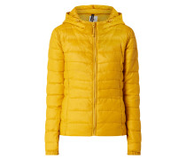 Light-Steppjacke mit Kapuze