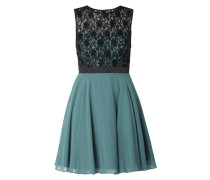 344e4aabf10dd6 Two-Tone-Cocktailkleid mit floraler Spitze. JAKE S