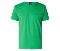 T-Shirt mit gummierten Logo-Prints