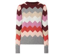 Pullover mit Zickzack-Muster