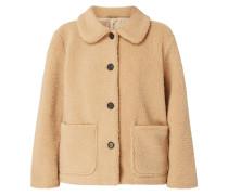 Jacke aus Teddyfell