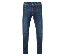 Tapered Fit Jeans mit Stretch-Anteil