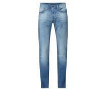 Slim Fit Jeans mit Stretch-Anteil Modell 'John'