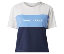 T-Shirt aus Organic Cotton mit Logo-Print