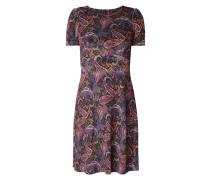 Kleid aus Samt mit Paisleymuster