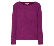 Pullover mit Knopfleiste an den Ärmeln