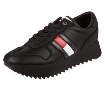 Sneaker 'High Cleated Sneaker' aus Leder