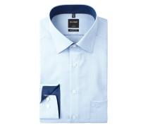 Modern Fit Business-Hemd mit extrakurzem Arm