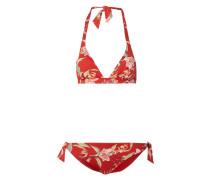 Bikini mit floralem Muster