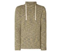 Pullover mit Tube Collar