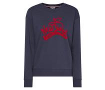 Sweatshirt mit New York-Print