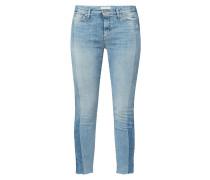 Slim Fit Jeans mit seitlichen Schattierungen