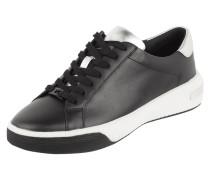 Sneaker aus Glattleder